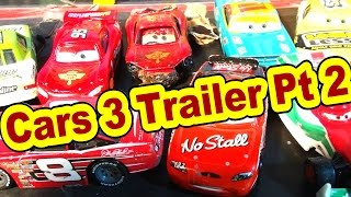 CARS 3 Official Trailer and Prediction with Lightning McQueen Mater and Ramone