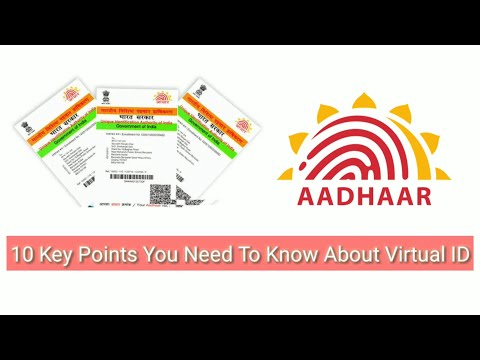 10 Key Points You Need to Know About Virtual ID | Aadhar Card | No Need Of Aadhar.