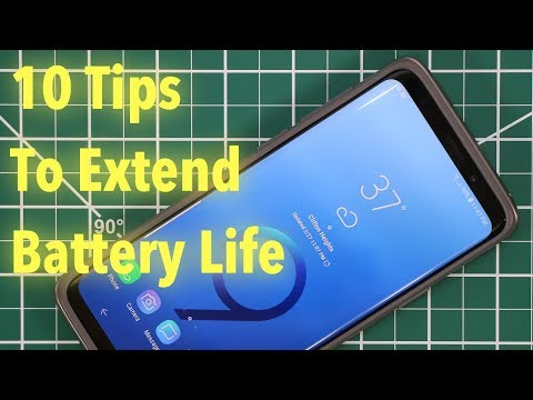 Samsung Galaxy S9/S9+ : 10 Tips to Extend Your Battery Life Now