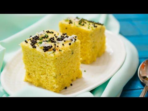 Khaman Dhokla Using Curd In Hindi | Besan Dhokla Without ENO | Gujarati Snack Recipe