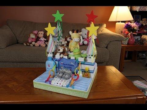 Boys Diaper Cake Castle (How To Make)