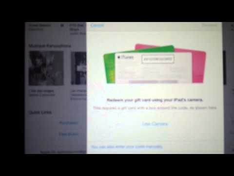 KJ Tutorial: how to redeem and itunes card on ipad