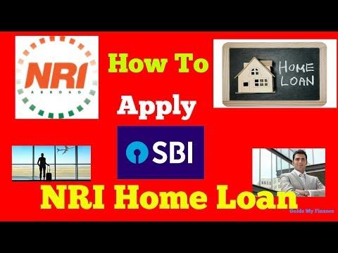 How to Apply SBI NRI Home Loan | एसबीआई एनआरआई होम लोन पर पूरी गाइड