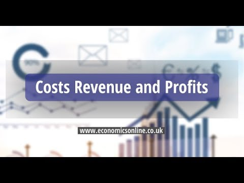 Costs, Revenue and Profits