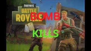 Bomb kills in Fortnite