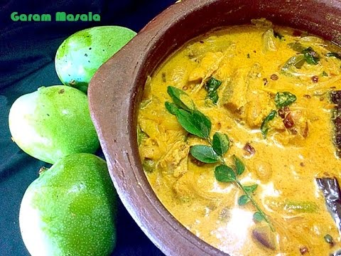 Manga ittuvecha meen curry / Mango fish curry