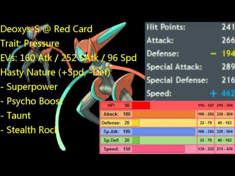So Teir:Red Card Deoxys