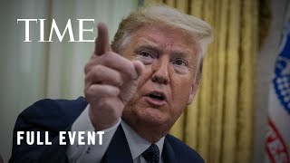 President Trump Holds News Conference Following U.S. Protests and Tensions with China | TIME