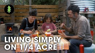 Family Flourishing on an Urban 1/4-acre Permaculture Plot - Creatures of Place