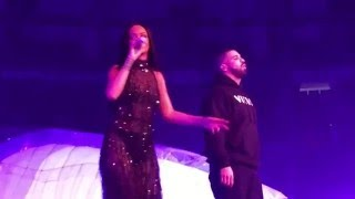 Download Rihanna ft. Drake - Work - One Dance - Jumpman (Live on the Anti-Tour in Toronto 2016) Video