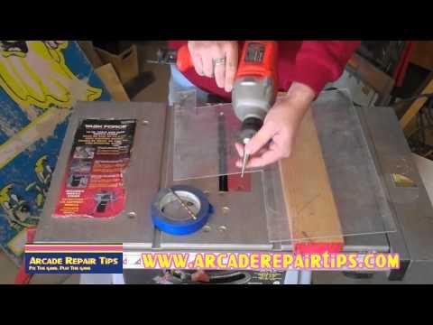 Arcade Repair Tips - Drilling Holes In Plexiglass