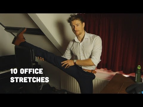 10 Stretches For Office Workers & Sedentary People