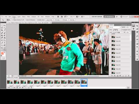 How to Make A Gif in Photoshop CS5 64bit Version