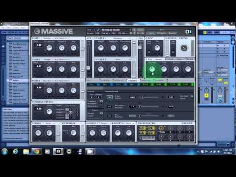 Massive Episode 1 - Trance Synth Design