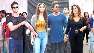 Bollywood Celebs INSIDE Mehboob Studio - Shahrukh Khan,Kajol,Alia,Hrithik,Jacqueline,Dia Mirza