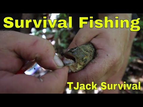 Survival Fishing in the Amazon Jungle with the Natives