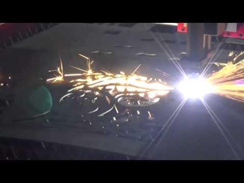 Cnc plasma metal cutting machine cutting steel door