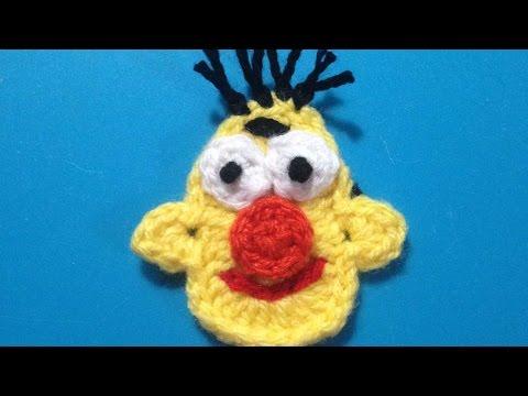 How To Crochet Sesame Street Bert Applique - DIY Crafts Tutorial - Guidecentral