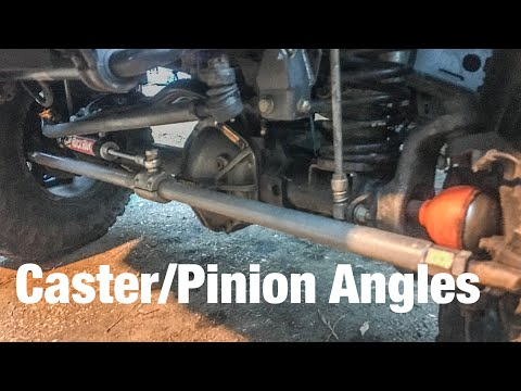 How to Check Caster and Pinion angle on your Jeep or Truck
