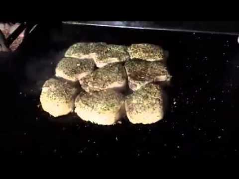 Italian Seasoned Pork Chops on the Griddle