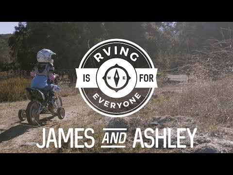 RVing is for Everyone: James and Ashley