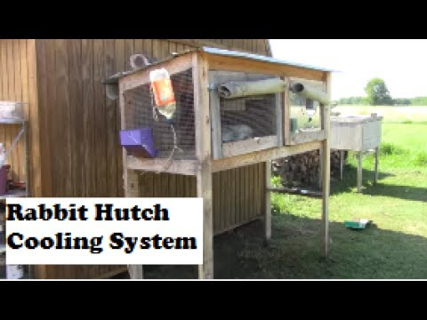 Rabbit Hutch Cooling System UPGRADE