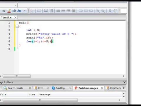 Printing first N natural numbers in reverse using loop in C language