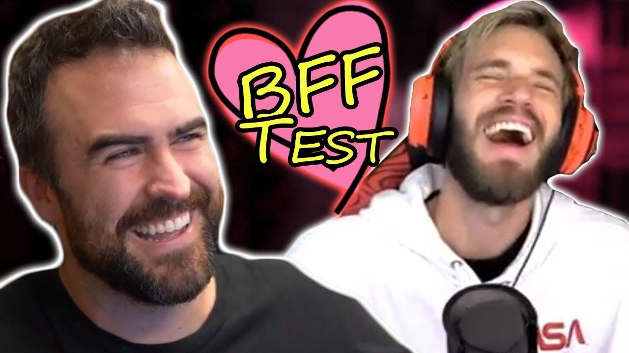 WE TAKE BEST FRIENDS TEST (Fan Service 100% Lit)