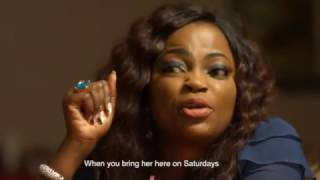 LOVE TRIANGLE: Jenifa, Toyosi and Femi come up with a plan to get Annie to change her arrogant ways.