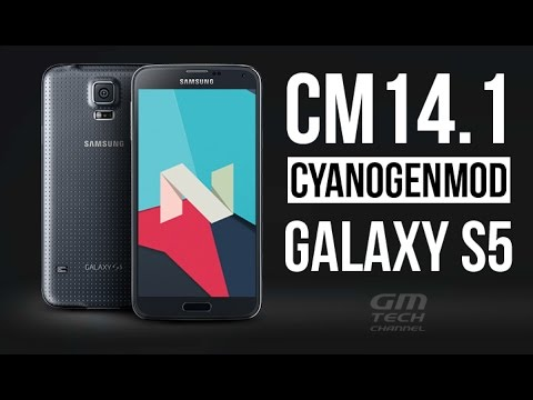 CyanogenMod 14.1 Official for Galaxy S5 (Android 7.1 Nougat)