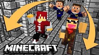 ISAN & JONO KABUR DARI PENJARA !! | Puzzle Map | Minecraft Indonesia