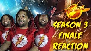 "THE FLASH SEASON 3 FINALE | REACTION & RECAP (Season 3 Episode 23 Reaction) ""Finish Line"""