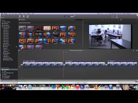 How to delete the audio in iMovie