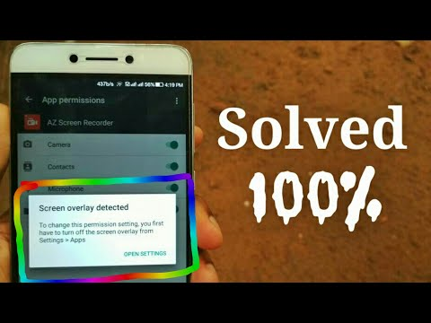 Coolpad Cool 1 Screen Overlay Detected - 100% Working Solution