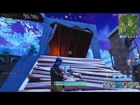 N00b Places High 1st Time playing Fortnite! 4K PC!