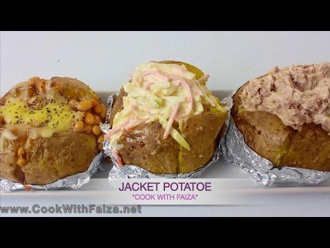 JACKET POTATO - جیکٹ پوٹاٹو - जैकेट पॉटैटो *COOK WITH FAIZA*