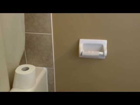 FUNNY. How to install toilet paper. Instructional video for kids.