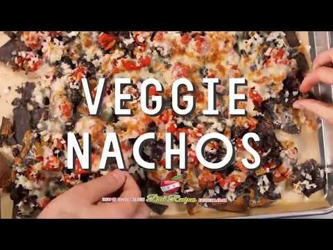 Vegetarian Black Bean Nacho Recipe