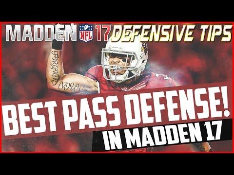 MADDEN 17 BEST PASS DEFENSE! Madden NFL 17 Defensive Tips