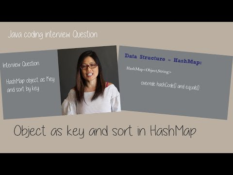 Java coding interview question – object as key and sort in HashMap