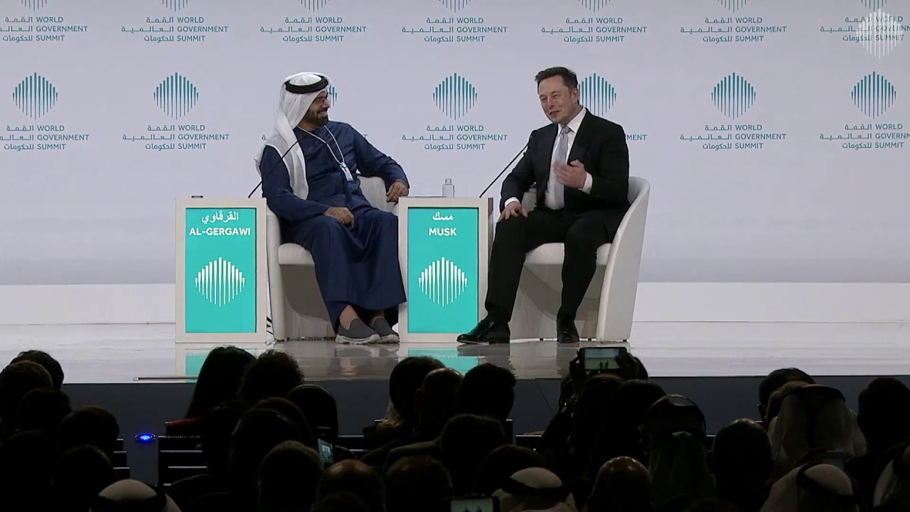 WGS17 Session: A Conversation with Elon Musk