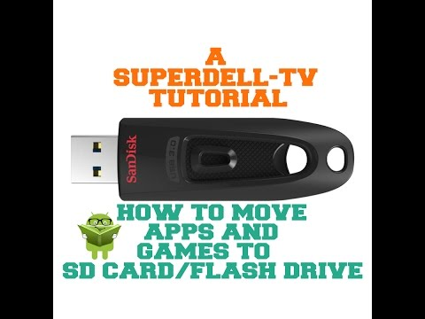 Move apps and games to sd card/flash drive on your Android TV Box