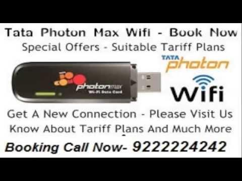 TATA photon max wifi offer in mumbai 922 222 4242