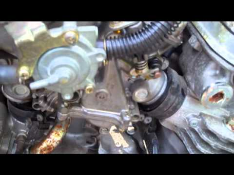 How to reinstall motorcycle v-4 carbs the easy way