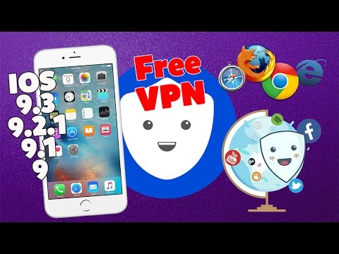 How To Get FREE UNLIMITED VPN For IOS 9-9.2.1/9.3 (No Jailbreak) iPhone,iPad,iPod