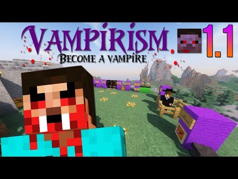 VAMPIRISM 1.1 | Become a Vampire! - *Updated* Mod Showcase!