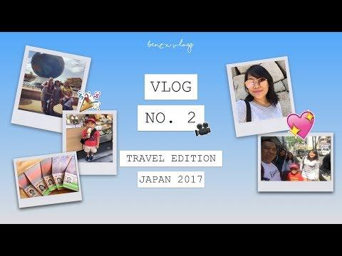 TRAVEL VLOG: JAPAN DAY ONE I ITAMI AIRPORT, OSAKA CASTLE, NAMBA - June 14, 2017