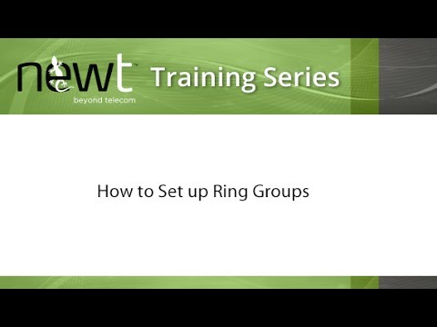 How to Set up Ring Groups