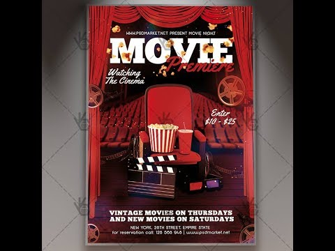 Movie Premiere - Premium Flyer PSD Template