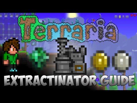 Terraria | Extractinator Guide | Turn Blocks into Gold | Mirium